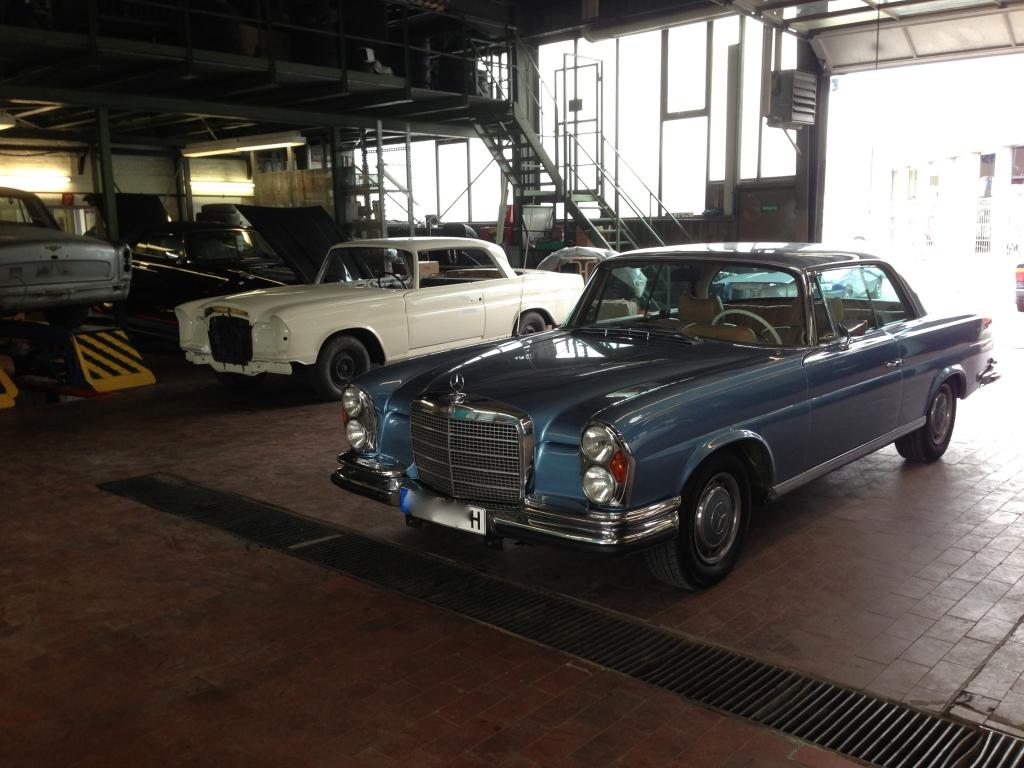 Mercedes Oldtimer Werkstatt Berlin - vom Service bis zur Vollrestauration