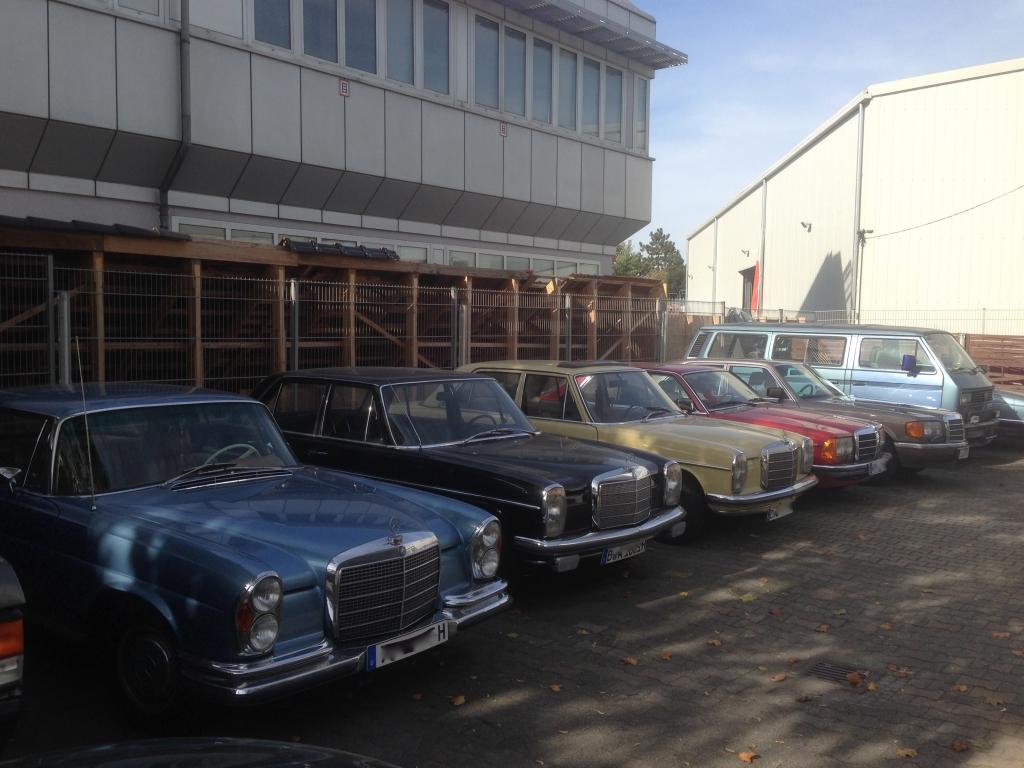 Mercedes-Benz vom Neuwagen bis zum Oldtimer