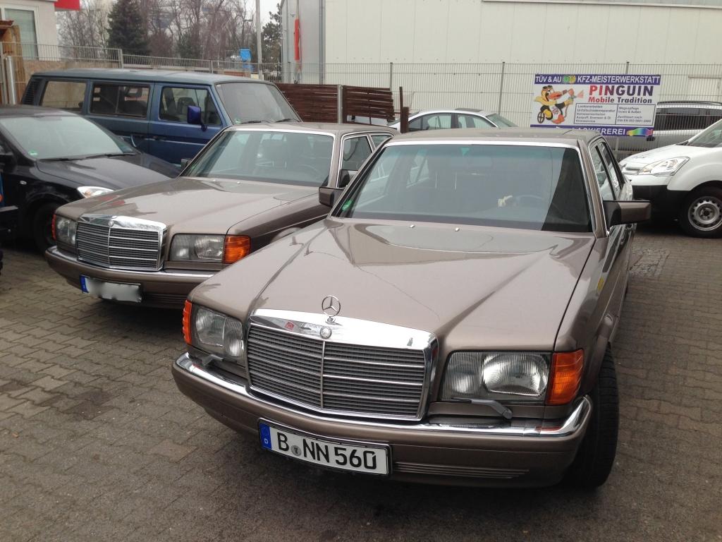 W126 Werkstatt Berlin
