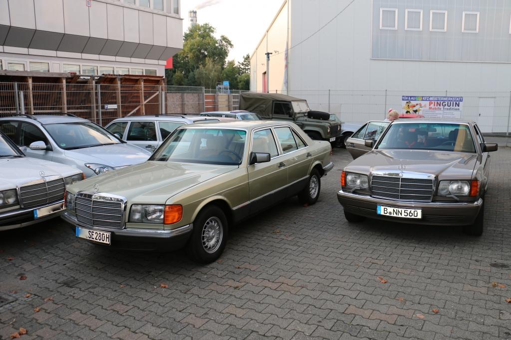 Mercedes-Benz W126 280 SE und 560 SE