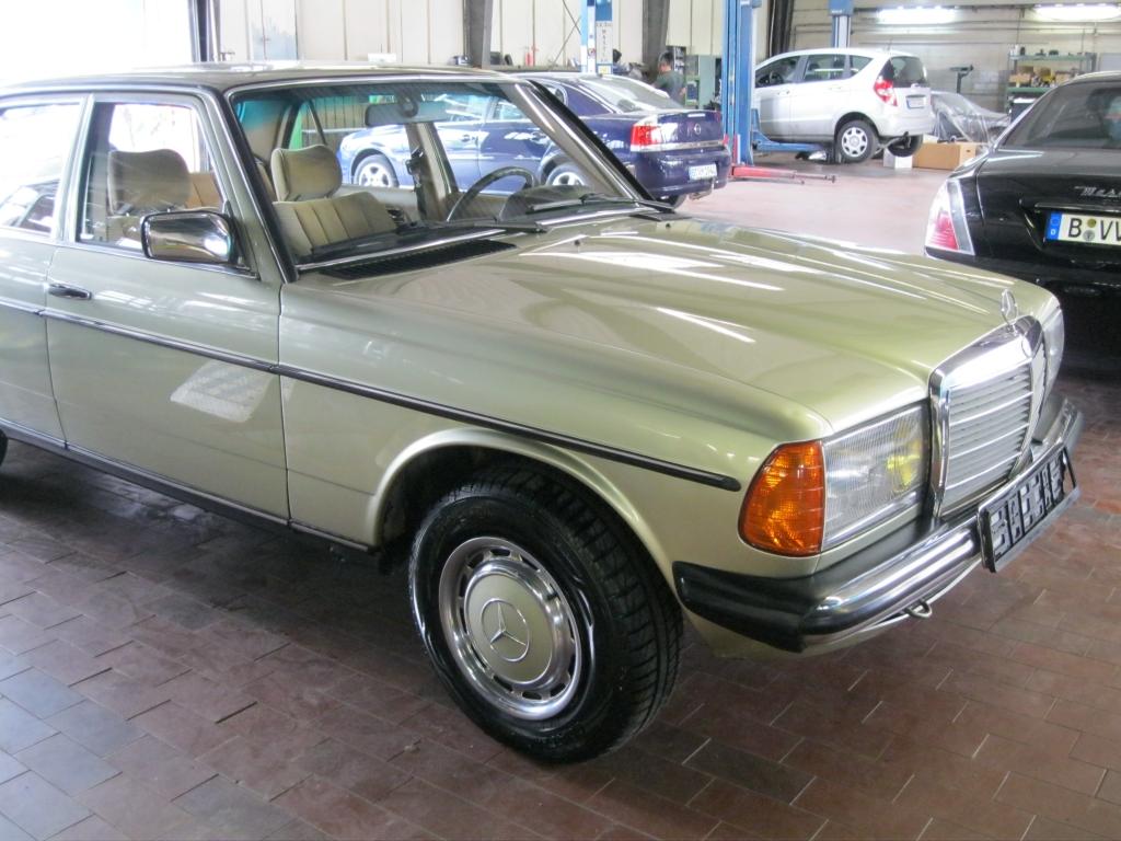 W123 Mercedes