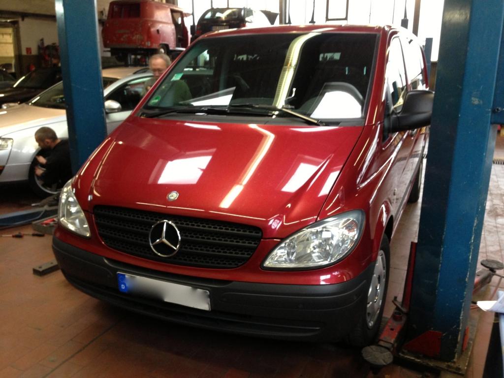 Mercedes Vito Fahrzeuge freie Werkstatt Berlin