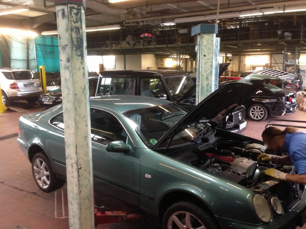 CLK Mercedes-Benz Fahrzeuge