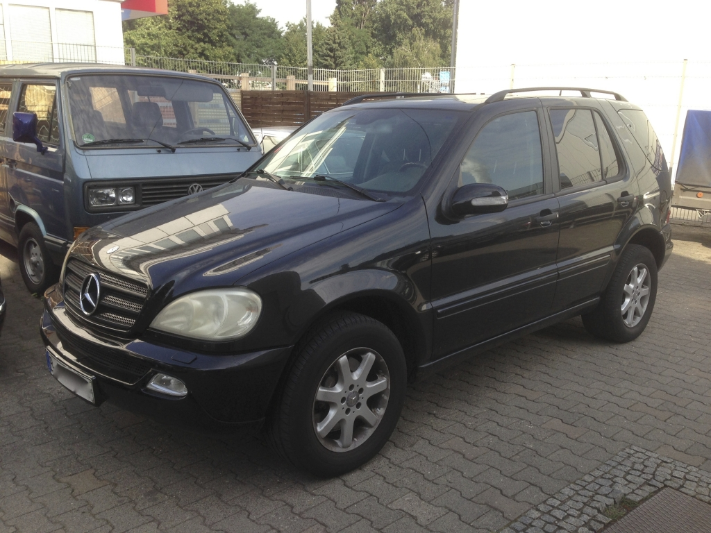 Mercedes Benz ML Service, Wartung, Inspektion