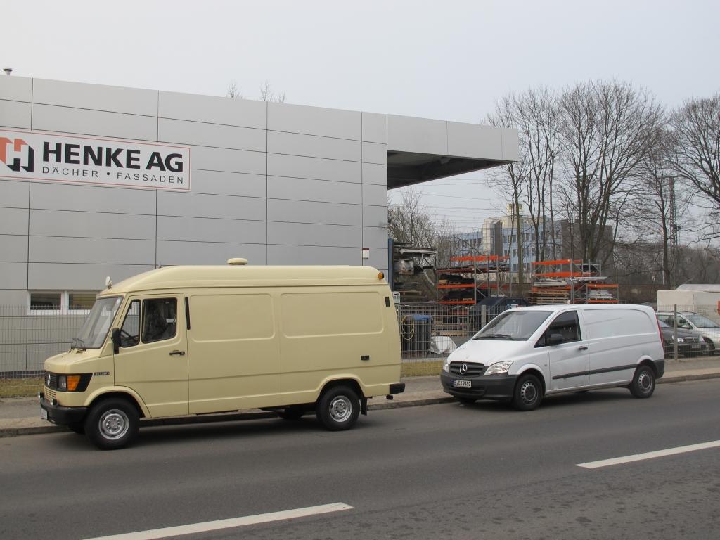 Mercedes Transporter - alle Generationen