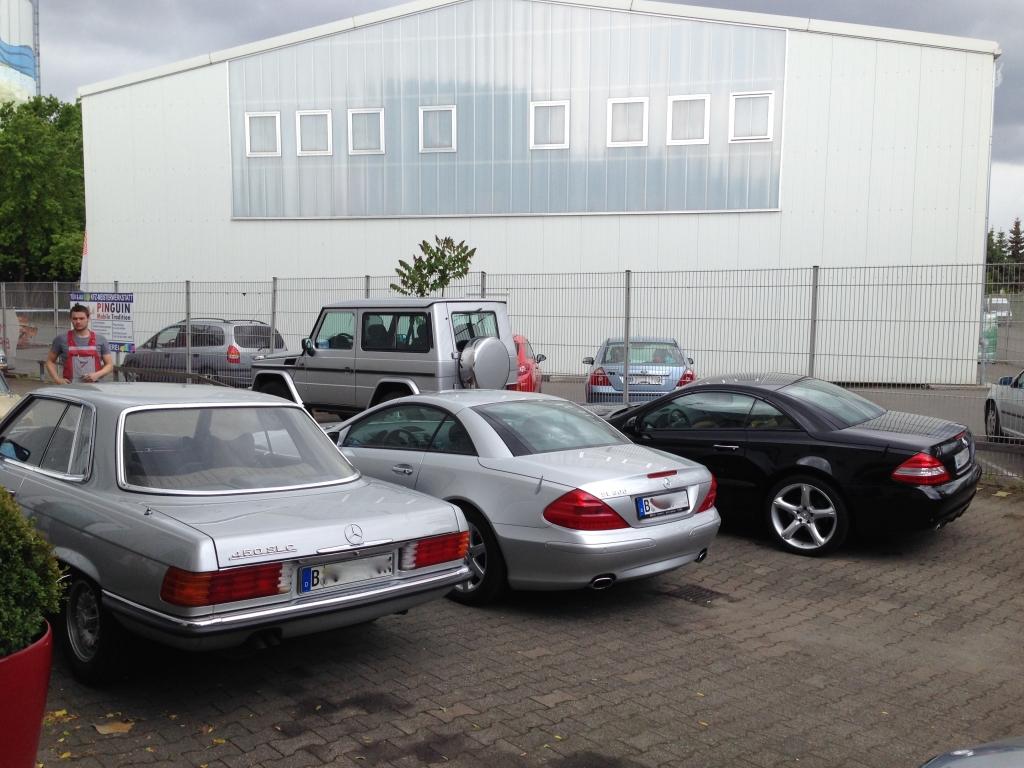 Mercedes-Benz SL R 230 und W107
