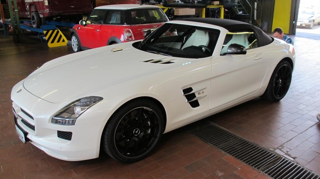Mercedes-Benz SLS AMG Cabrio - der Urenkel der Mercedes Pagode