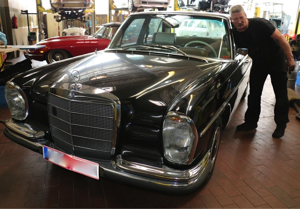 Mercedes-Benz W108 Fahrzeuge freie Werkstatt Berlin